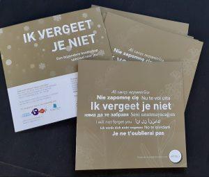 Voor Cultuurcompaan Roosendaal maakte ik de schrijfopdracht ' De verloren tuin'.
